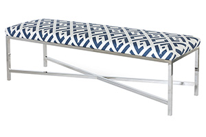 Lincoln Chrome Bench