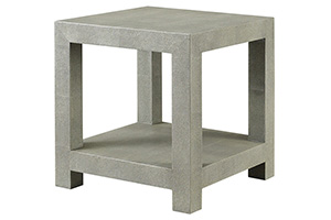 Ames Shagreen Side Table