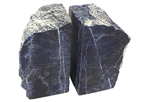 Pedro Sodalite Bookends