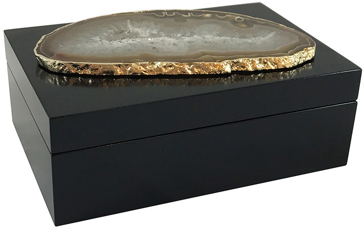 Guilherme Large Agate Box