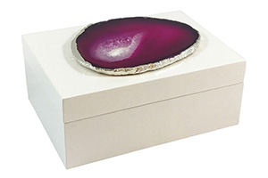 Emiliano Small Agate Box