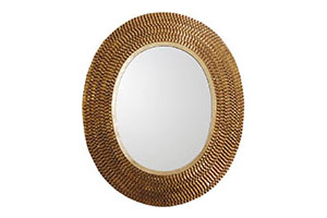 Denmark Mirror, Gold Leaf