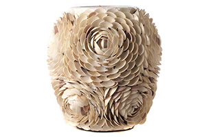 Crache Vase, Small, Natural