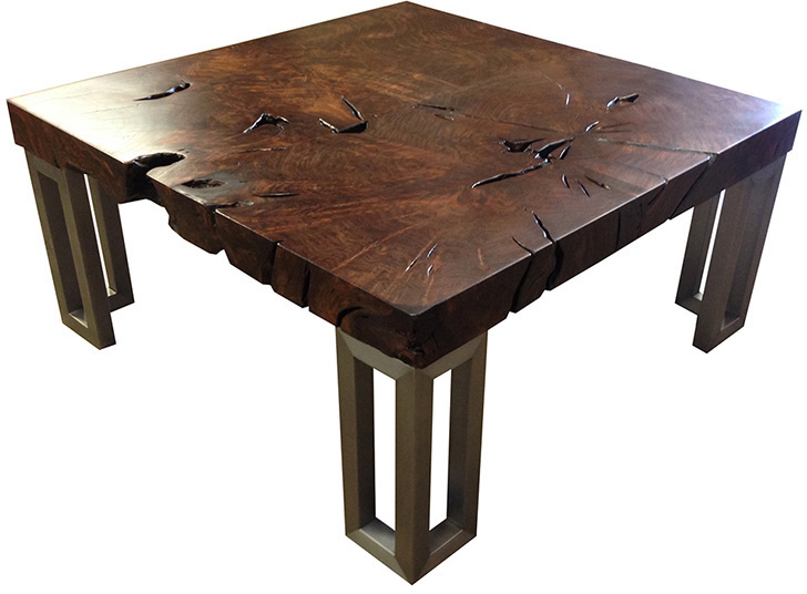 Parsons Walnut Table