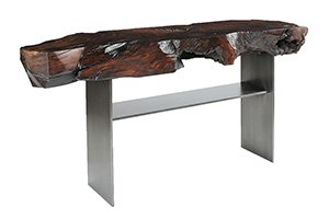 Nogal Console Table