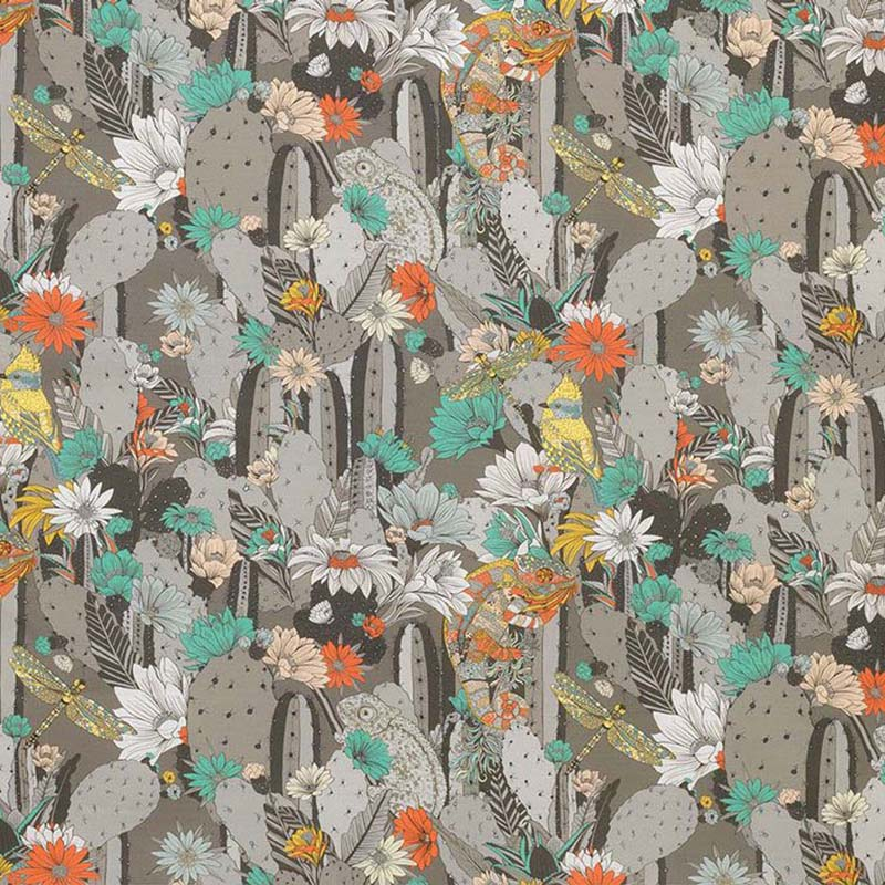 f7247-02 Cactus Garden - 02 - Matthew Williamson Fabric