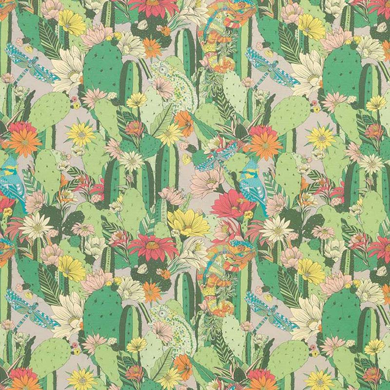 f7247-03 Cactus Garden - 03 - Matthew Williamson Fabric
