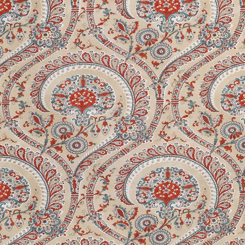 ncf4330-01 Les Indiennes - 01 - Nina Campbell Fabric