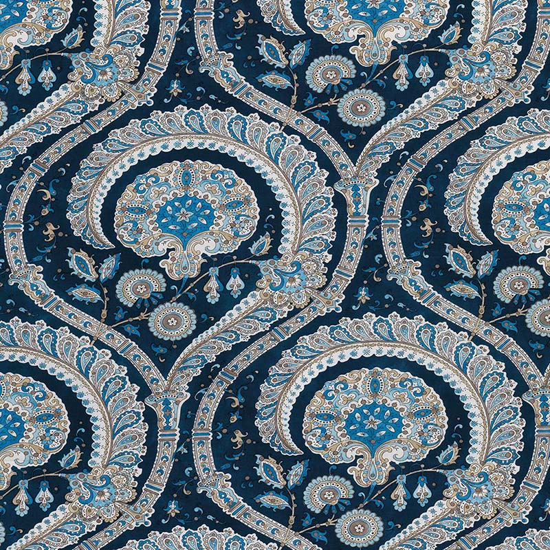 ncf4330-05 Les Indiennes - 05 - Nina Campbell Fabric