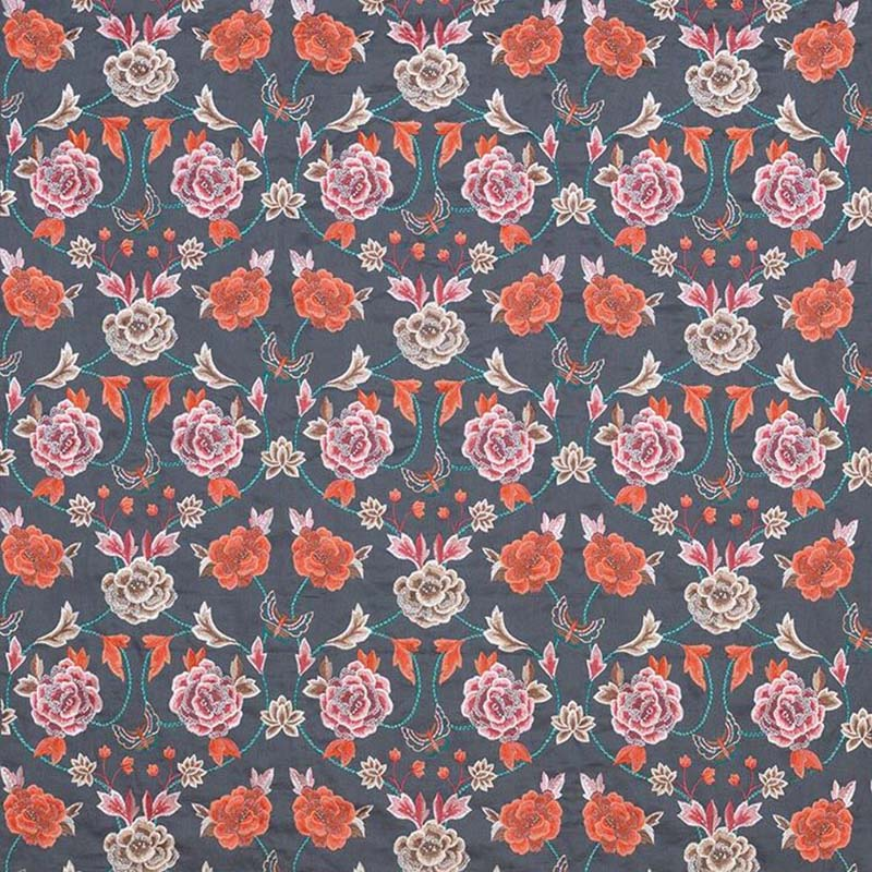 F7127-01 Peony Scroll - 1 - Matthew Williamson Fabric