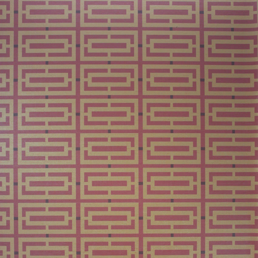 W6330-06 Kikko Trellis Vinyl - 06 - Osborne & Little Wallcoverings