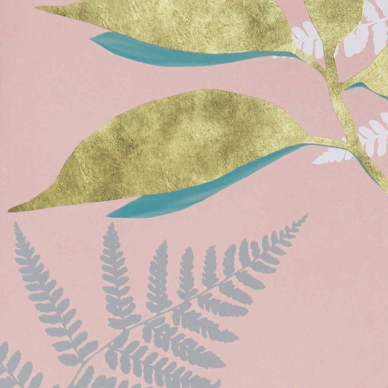 W7331-01 Feuille D'Or - 01 - Osborne & Little Wallpaper