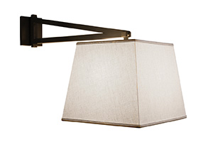 Reed Swing Arm Sconce