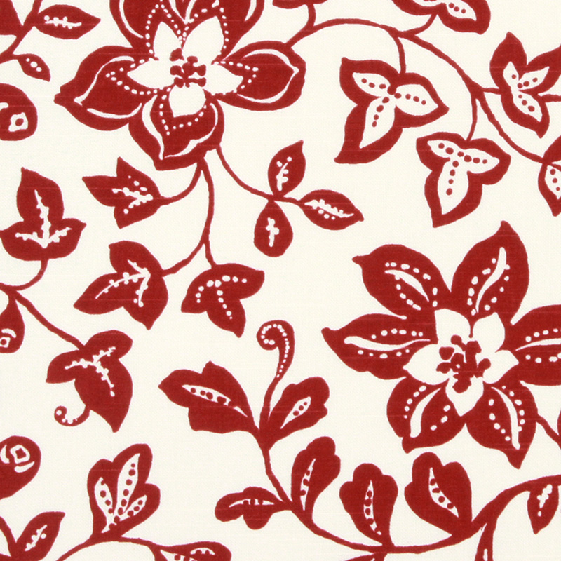 232953 Spring Toss - Berry - Robert Allen Fabric