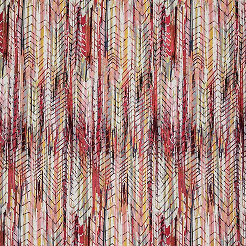 A9 00043300 Bohemian - Hot Cherry Gold - Aldeco  Fabric
