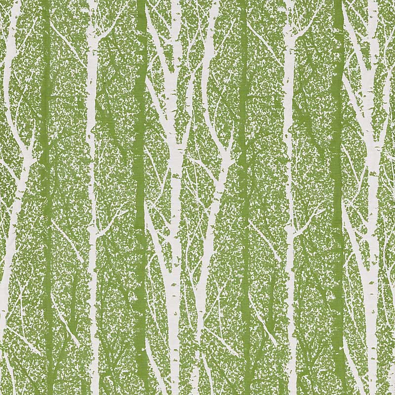 GW 000227205 (27205-002) Birch Weave - Spring Green - Grey Watkins Fabric