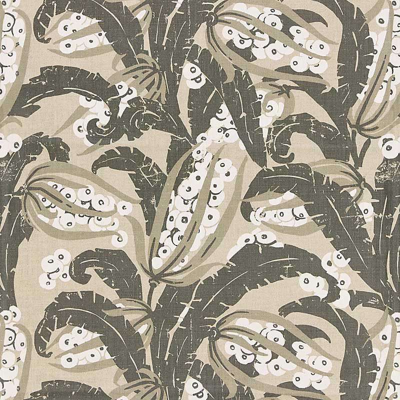 GW 000316609 (16609-003) Tropique - Stone - Grey Watkins Fabric