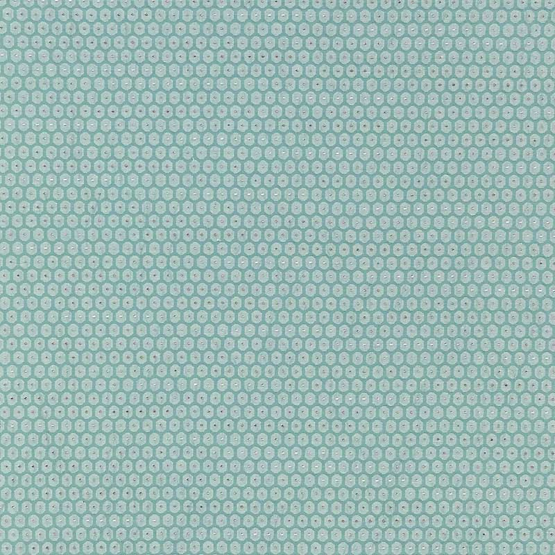 GW 000427209 (27209-004) Honeycomb Weave - Surf - Grey Watkins Fabric