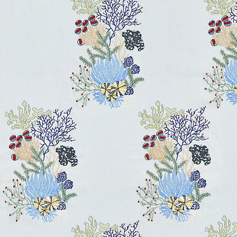 Old World Weavers Combe Martin Azure Fabric JM 00037072