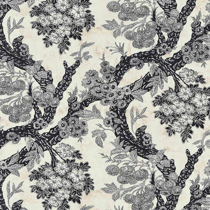 Old World Weavers Summerhouse Hill Charcoal Fabric M7 0002SUMM