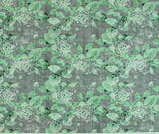 N4 0003ROSE Rose Trellis – Charcoal Green – Scalamandre Fabric