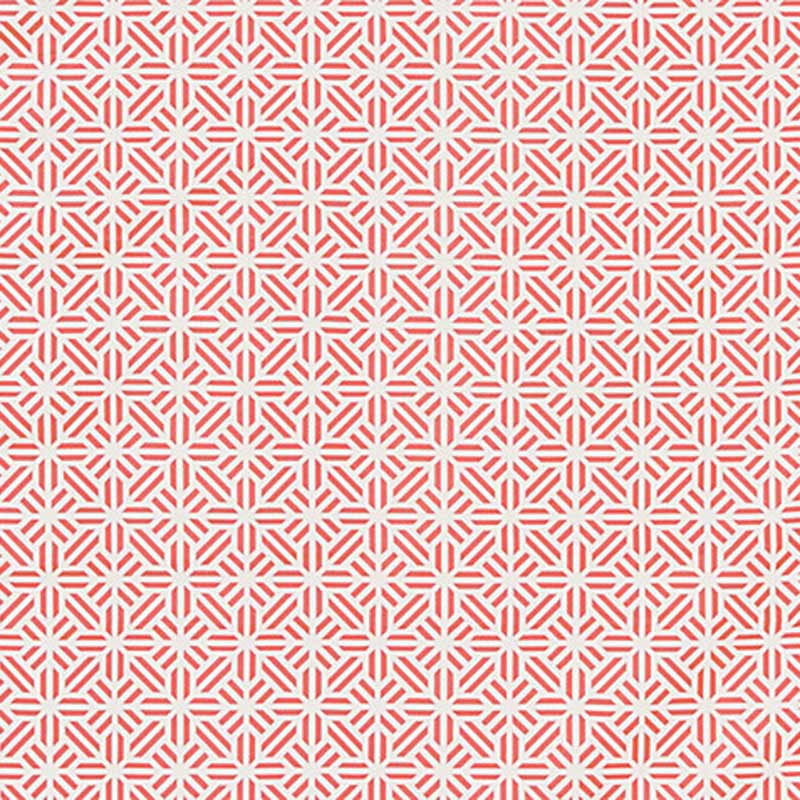 SC 000427213 Tile Weave - Coral - Scalamandre Fabric