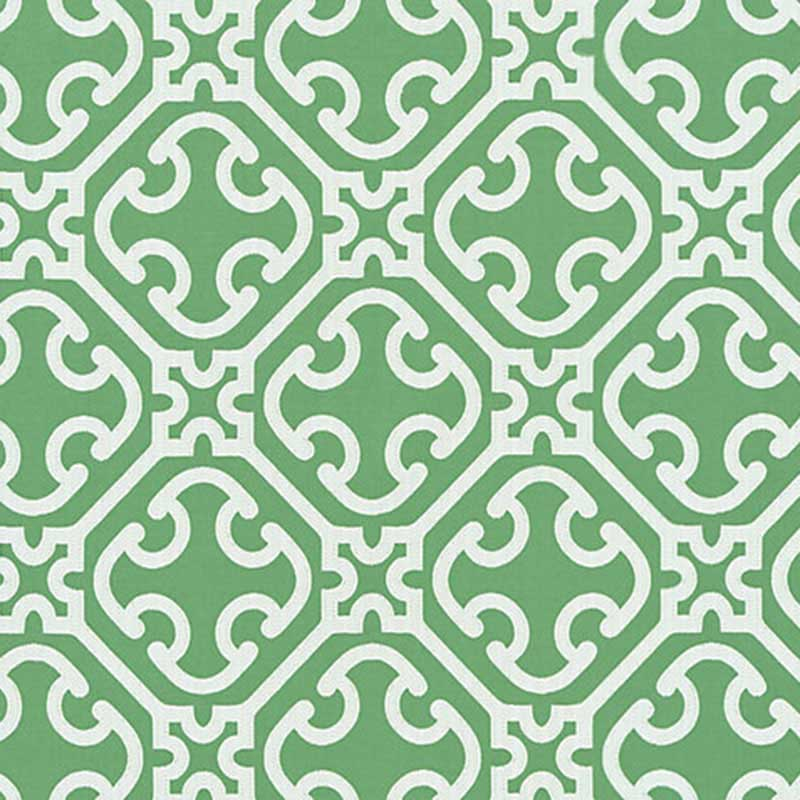 SC 000527214 Ailin Lattice Weave - Jade - Scalamandre Fabric
