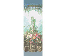 WNM0001JARS Jardin Defosse – Statue – Chantilly – Scalamandre Wallpaper
