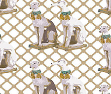 WNM0002REGA Regal Greyhound – Luxe – Scalamandre Wallpaper