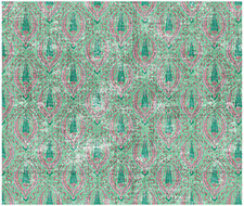 WNM1021BYZA Byzantine Jewel – Green – Scalamandre Wallpaper