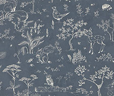 WSB00760232 Hollie – Dark Grey – Scalamandre Wallpaper