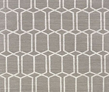Schumacher Modern Trellis Sisal Charcoal Wallpaper 5010101