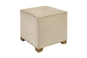 Tribeca Ottoman- Mitered Top