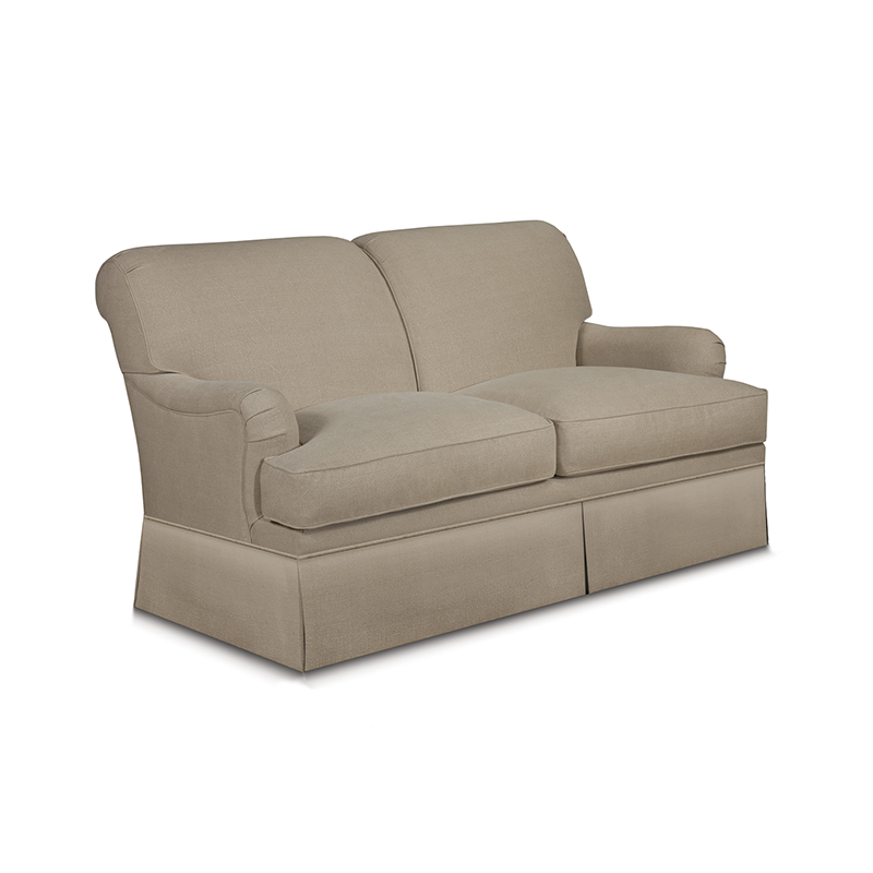 Schumacher Cambridge Skirted Sofa  L.A Design Concepts