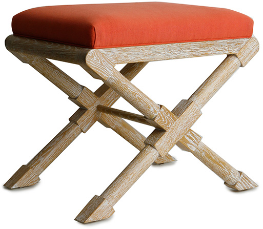 Frank Bench- Cerused Oak