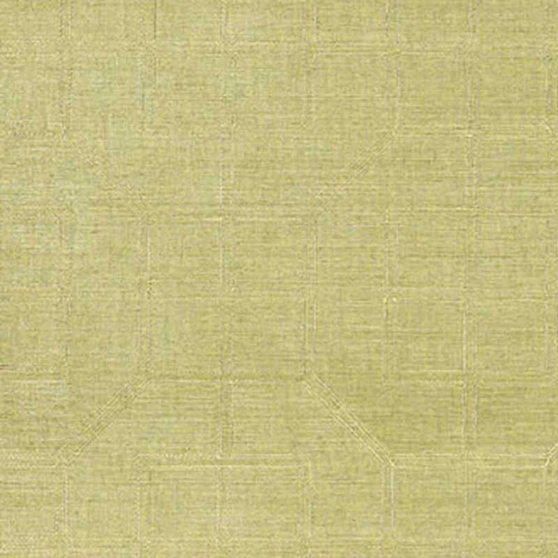 5003551 Linyi Embroidered Fret - Celery - Schumacher