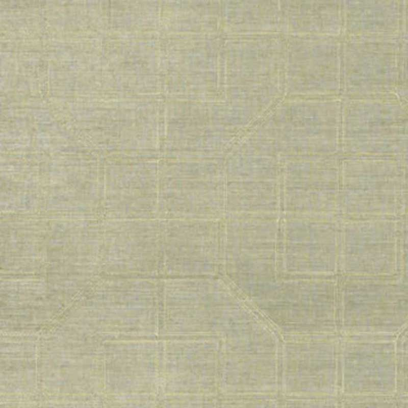 5003552 Linyi Embroidered Fret - Mist - Schumacher