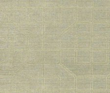 Schumacher Linyi Embroidered Fret Mist Wallpaper 5003552
