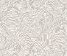 5007531 Abstract Leaf – Dove – Schumacher Wallpaper