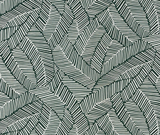 5007534 Abstract Leaf – Metallic Slate – Schumacher Wallpaper