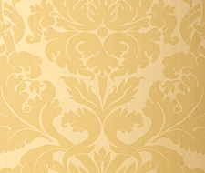 529191 Fiorella Damask – Yellow – Schumacher Wallpaper