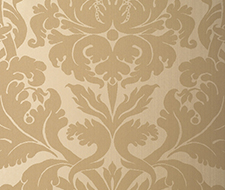 529193 Fiorella Damask – Oatmeal – Schumacher Wallpaper