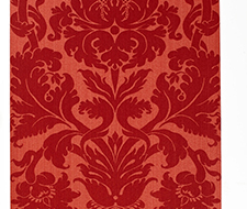 529194 Fiorella Damask – Red – Schumacher Wallpaper