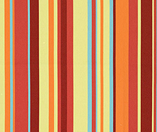 Schumacher Delray Stripe Sorbet Fabric 62890