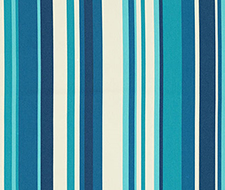 Schumacher Delray Stripe Marine Fabric 62891