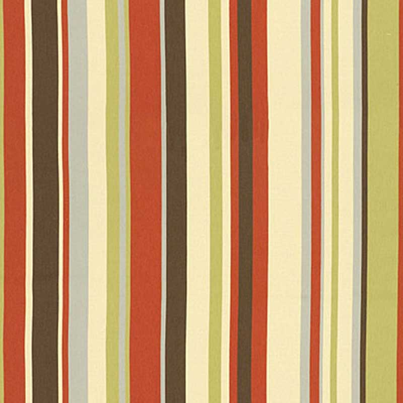 Schumacher Delray Stripe Cabana Fabric 62893