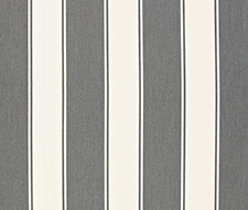 65890 Cannes Awning Stripe – Oxford Grey – Schumacher Fabric