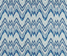 68940 Valkyrie Flame Stitch – Delft – Schumacher Fabric