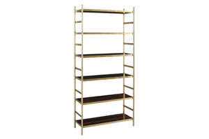 Antiqued Metal Etagere