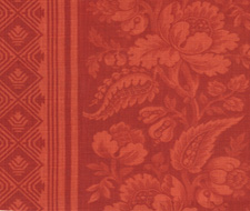 4008-04 Lovely Louise Coral Red – Victoria Hagan Fabric